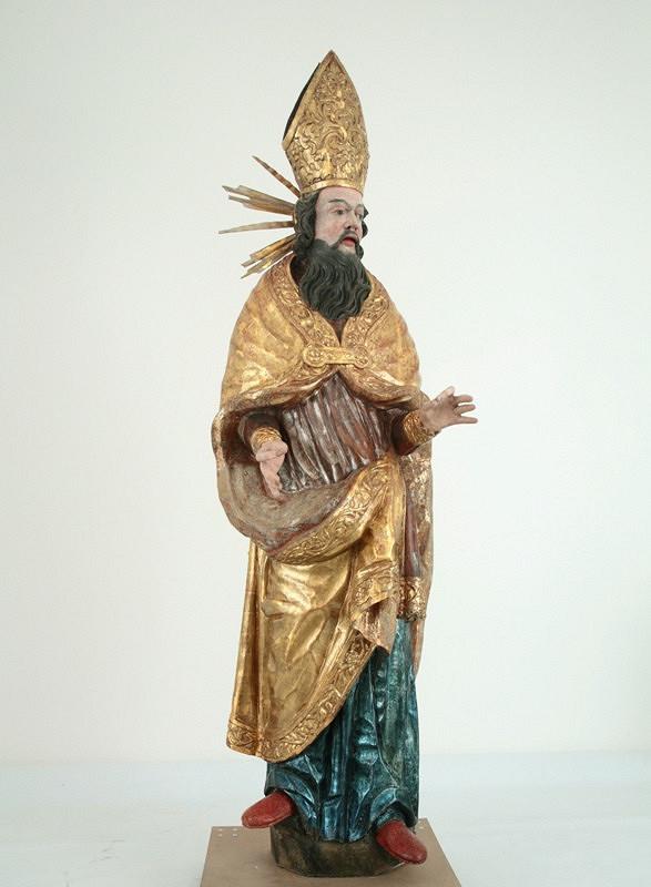 Slovenský rezbár z 2. polovice 18. storočia – Sv. Quiriacus - jeruzalemský biskup