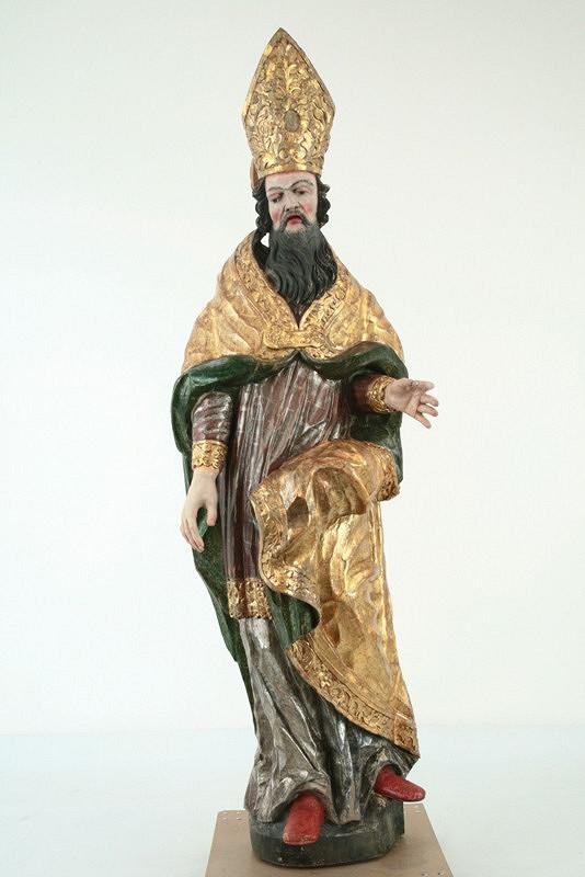 Slovenský rezbár z 2. polovice 18. storočia – sv. Zachariáš - jeruzalemský biskup