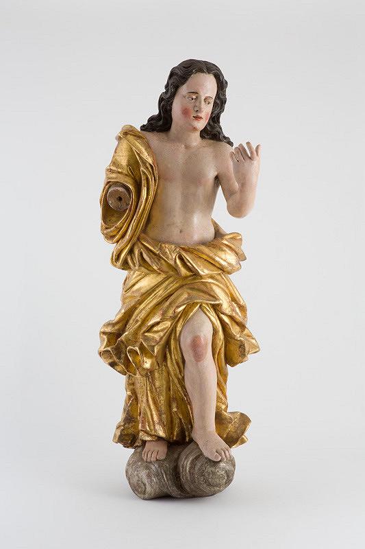 Slovenský rezbár z 18. storočia – Anjel