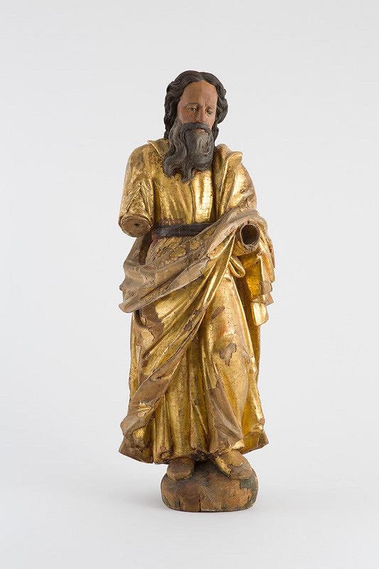 Slovenský rezbár z 18. storočia – Svätec - torzo