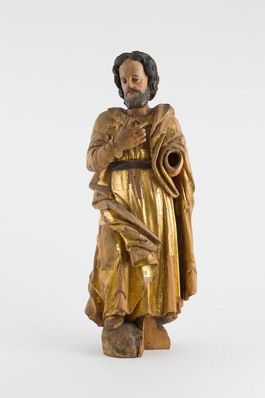 Slovenský rezbár z 18. storočia – Svätec