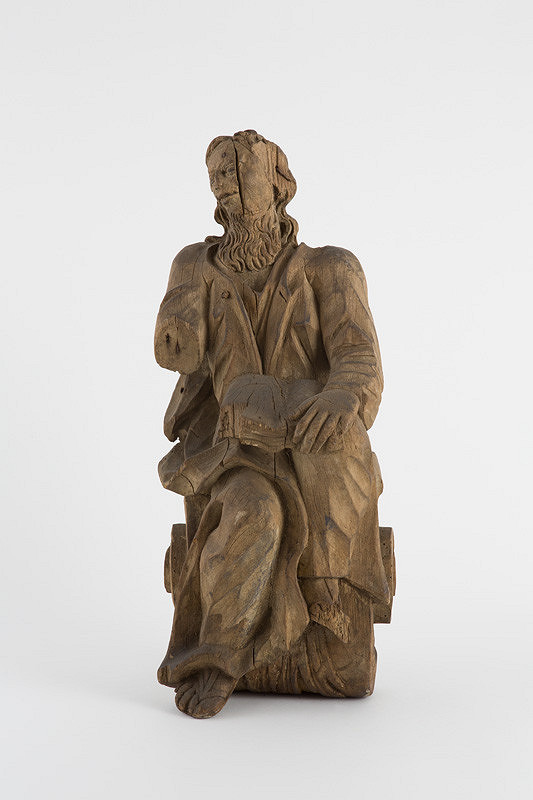 Slovenský rezbár z 18. storočia – Sv. Hieronym