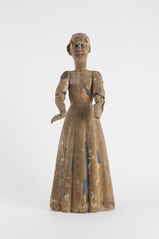 Neznámy autor – Panna Mária obliekacia