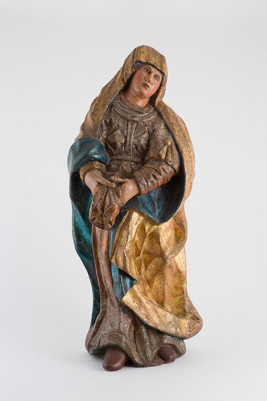 Slovenský rezbár z 18. storočia – Panna Mária Bolestná