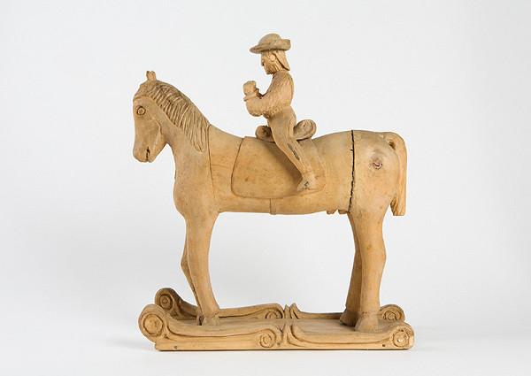 Štefan Siváň st. – Kôň s jazdcom