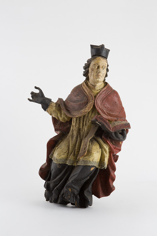Slovenský rezbár z 18. storočia - Evanjelista