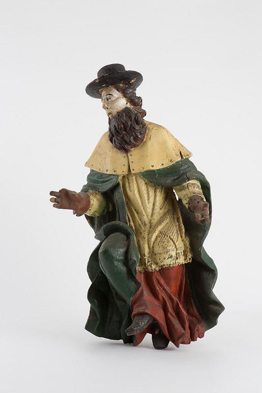 Slovenský rezbár z 18. storočia – Sv. Hieroným