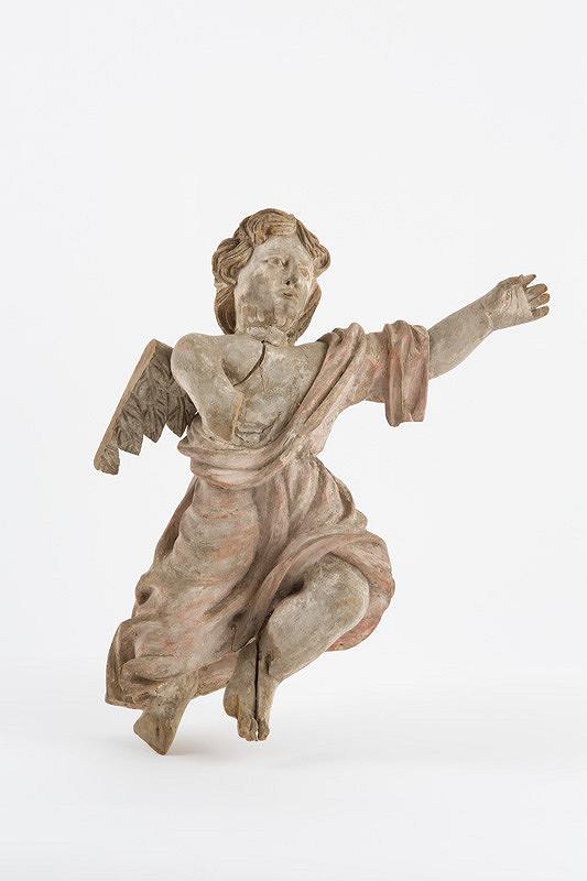 Slovenský rezbár z 2. polovice 18. storočia – Anjel