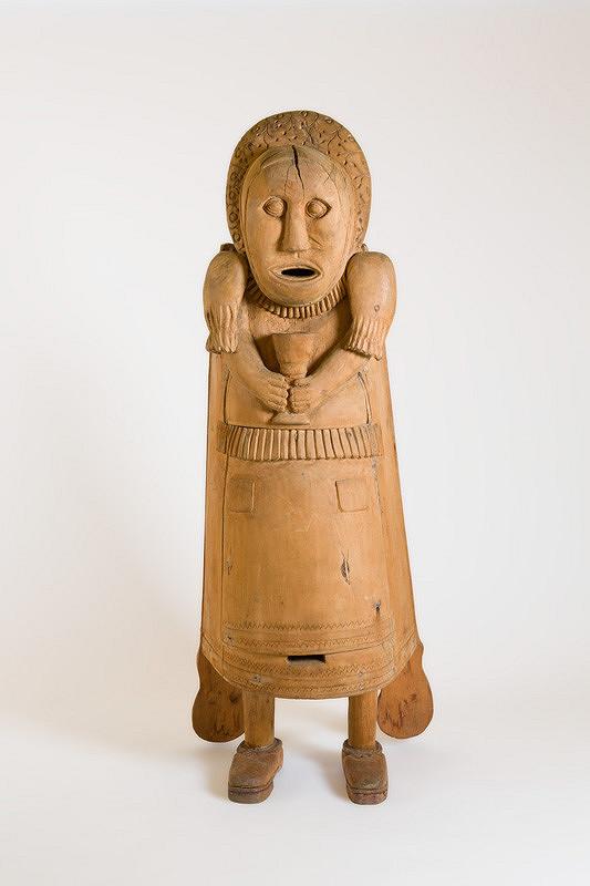 Štefan Siváň st. – Figurálny úľ - Žena s kalichom