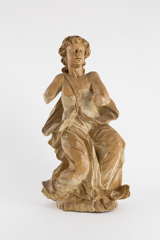 Slovenský rezbár z 1. polovice 18. storočia - Anjel