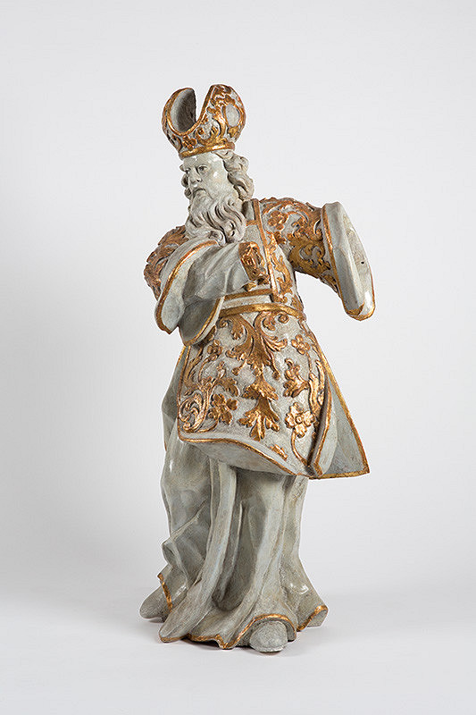 Slovenský rezbár z 2. polovice 18. storočia - Biskup