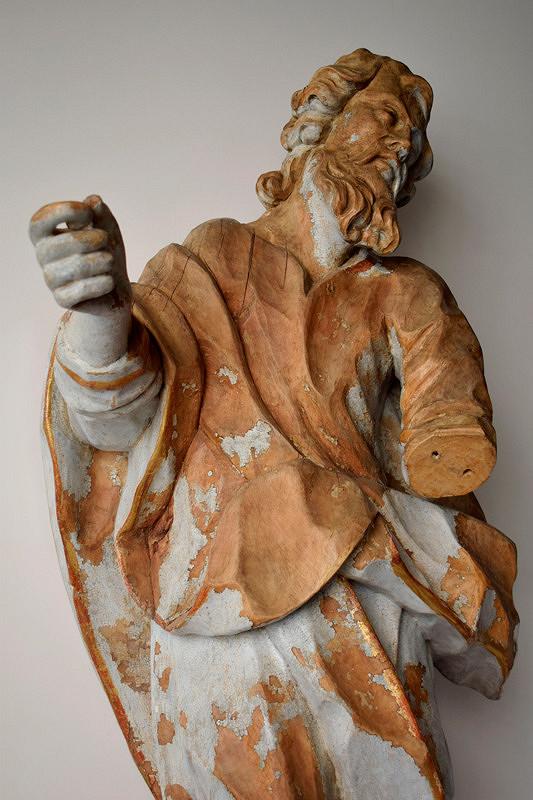 Slovenský rezbár z 2. polovice 18. storočia - Svätec