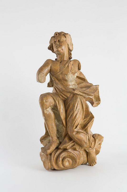 Slovenský rezbár z 1. polovice 18. storočia – Anjel