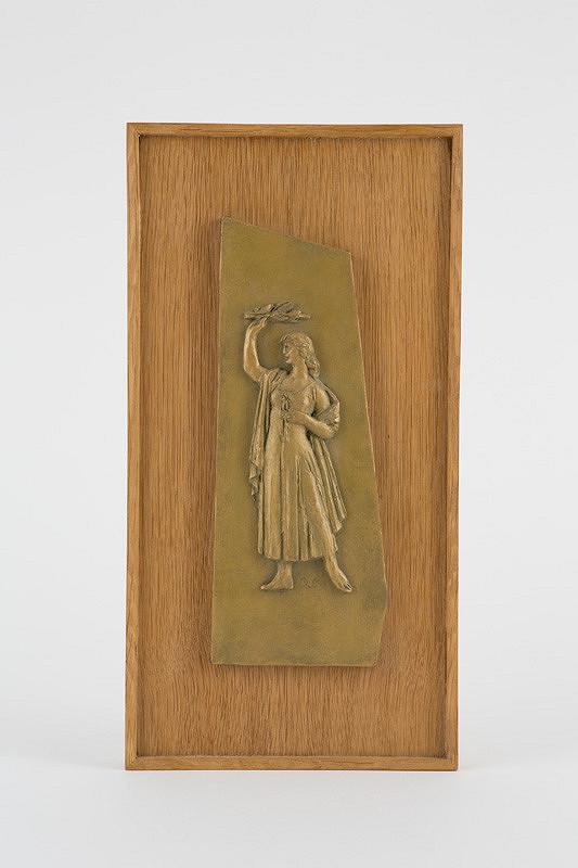 Rudolf Pribiš – 1. skica k pomníku Oslobodenia v Rajci