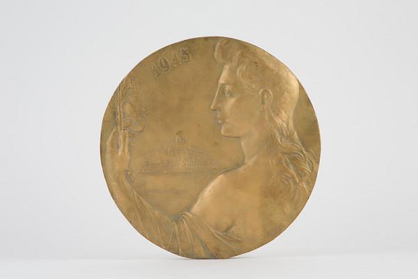Rudolf Pribiš – Štúdia medaily Bratislavy