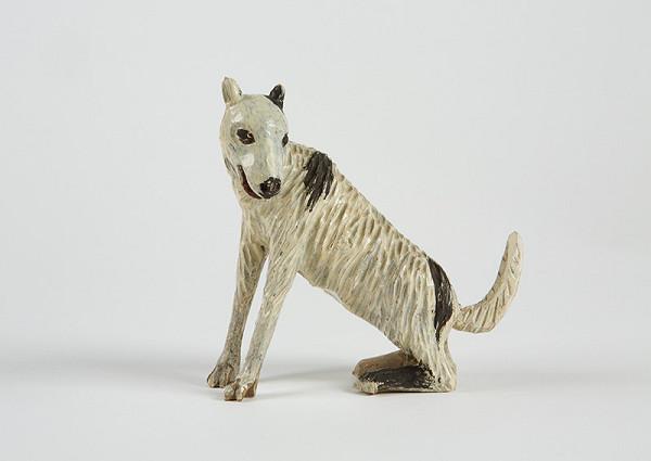Neznámy autor – Sediaci pes