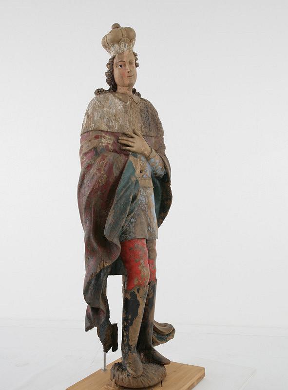Stredoeurópsky rezbár z prelomu 18. - 19. storočia – Svätý Štefan