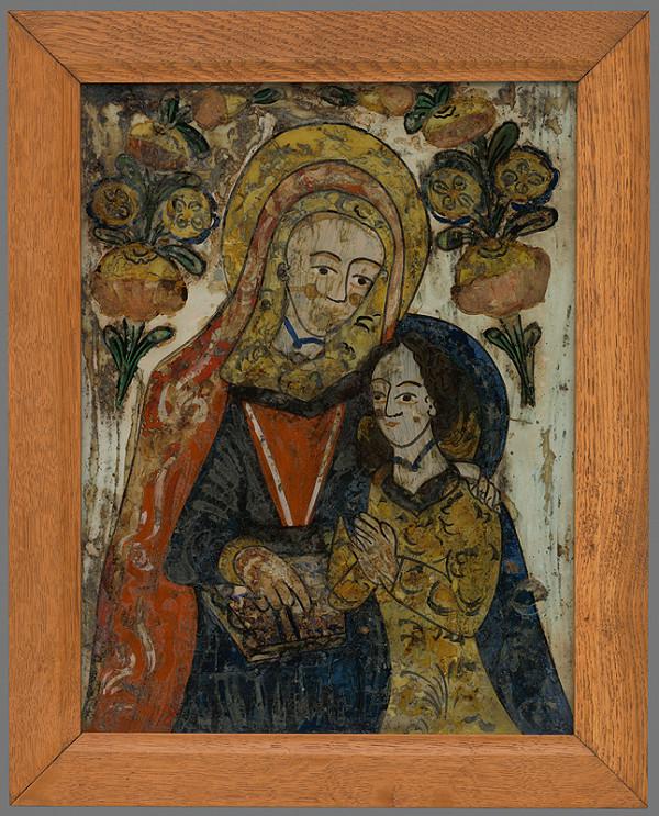 Stredoslovenský maliar z 1. polovice 19. storočia - Sv. Anna