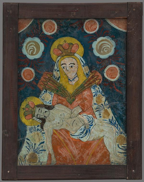 Neznámy autor - Pieta-Sedembolestná Panna Mária