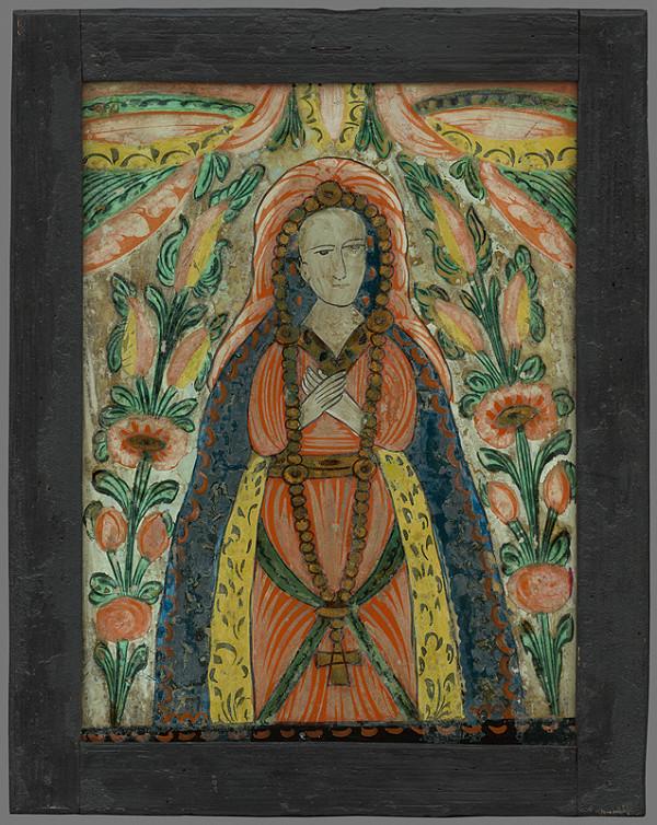 Neznámy autor – Panna Mária Ružencová