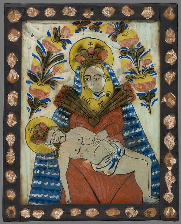 Neznámy autor – Pieta-Sedembolestná Panna Mária