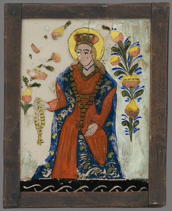 Neznámy autor – Ružencová Panna Mária