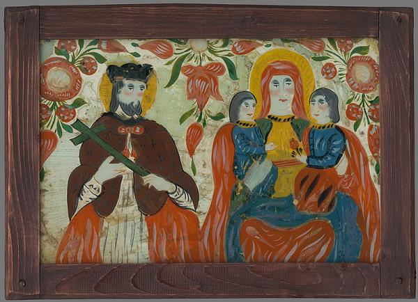 Majster huňatých obočí - Sv.Ján Nepomucký a sv.Anna samotretia