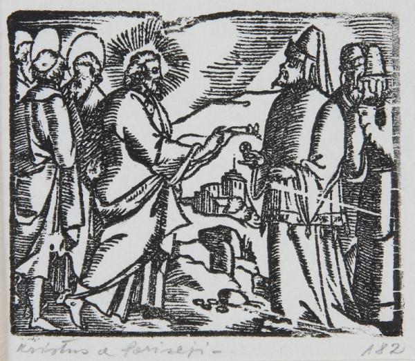 Neznámy autor – Kristus a farizeji