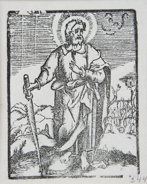 Neznámy autor - Sv. Šimon Horliteľ - apoštol