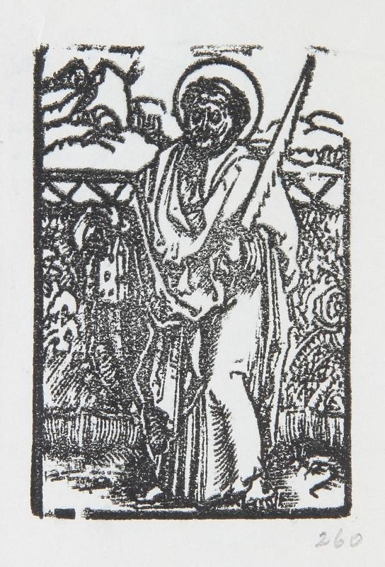 Neznámy autor - Sv. Šimon, apoštol