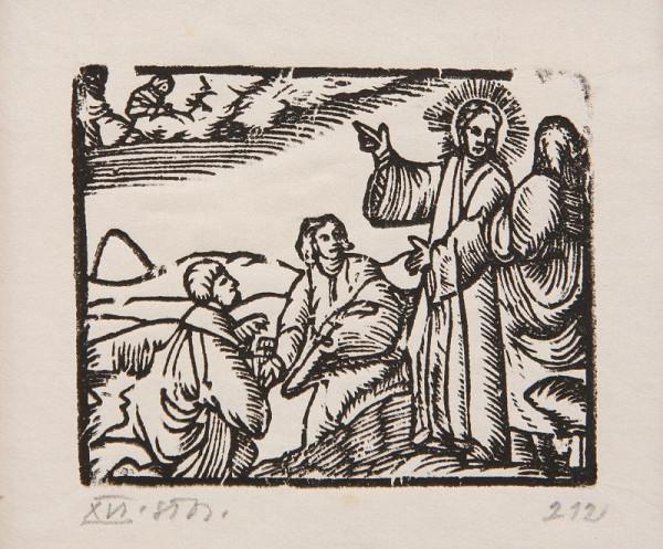 Neznámy autor – Kristus na hore Olivetskej