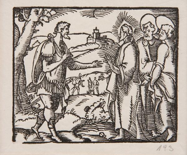 Neznámy autor – Kristus a Nikodém