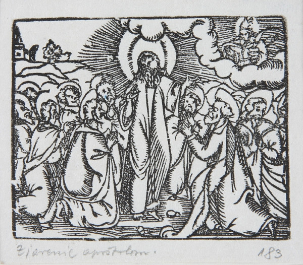 Neznámy autor - Zjavenie apoštolom