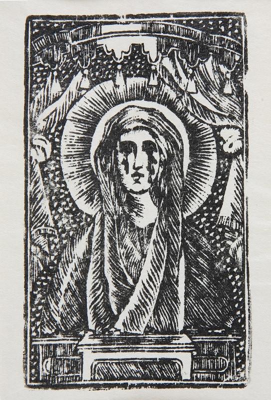 Neznámy autor - Panna Mária Ostrihomská