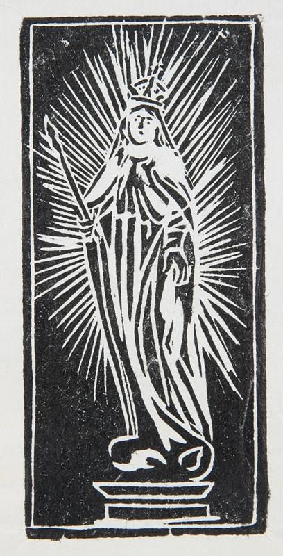 Neznámy autor - Panna Mária