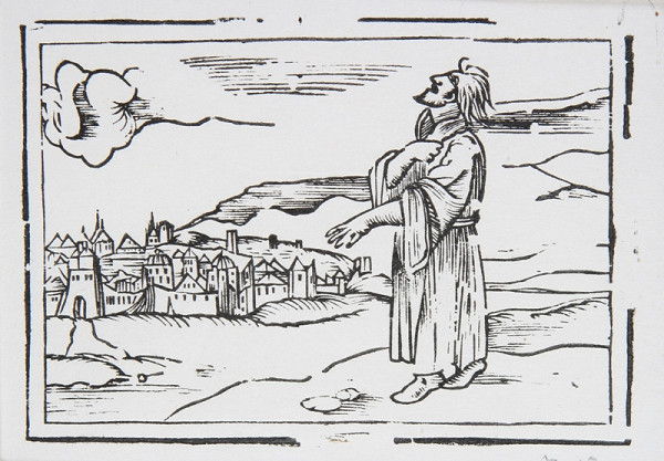Neznámy autor – Prorok prosí za mesto
