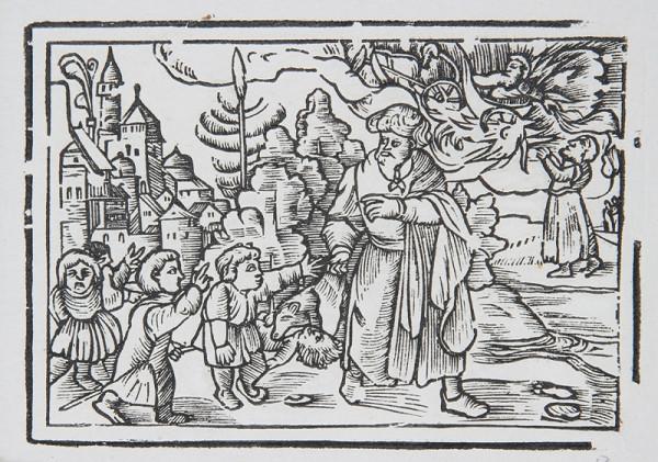 Neznámy autor – Prorok Elizeus