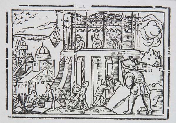 Neznámy autor – Stavba Babzlonskej veže