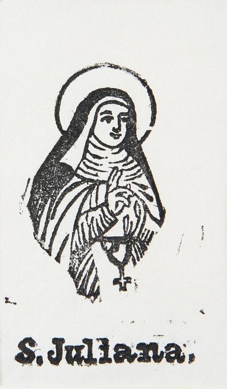 Neznámy autor – Sv. Juliana
