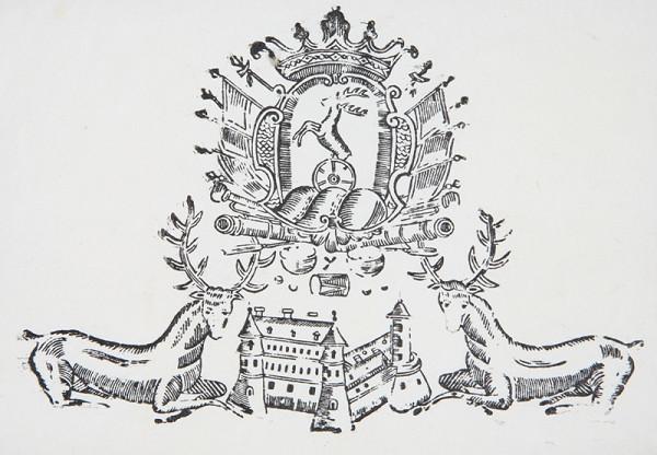 Neznámy autor – Pálfyovský Erb s jeleňmi