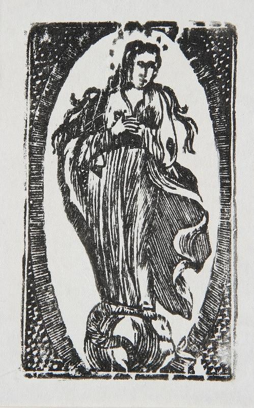 Neznámy autor – Nepoškvrnená Panna Mária