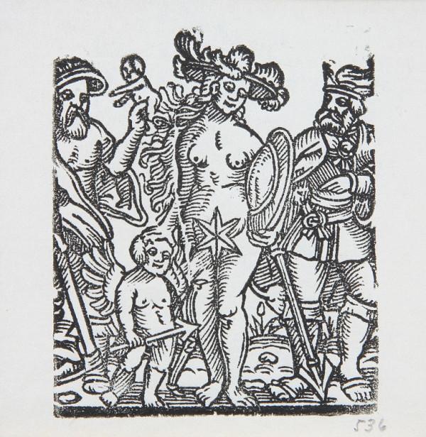 Neznámy autor – Venuša - Ilustrácia kalendára