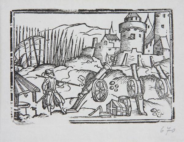 Neznámy autor – Delá pred hradbami mesta