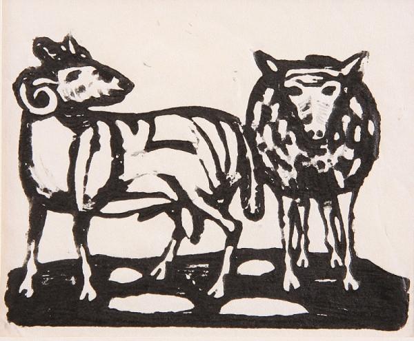 Neznámy autor – Baran a ovca