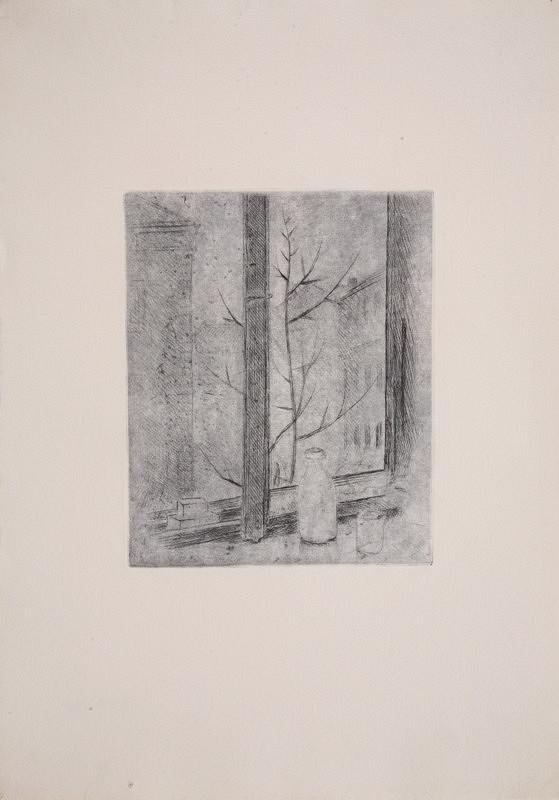 Mikuláš Galanda – Okno mestského bytu
