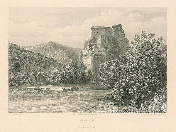 Inigo Shury, George Salisbury Shury - Oravský hrad