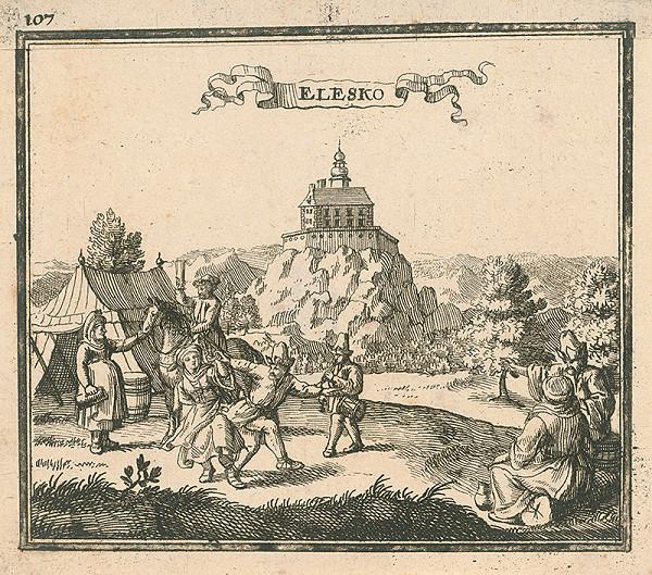 Justus van den Nypoort – Hrad Ostrý Kameň