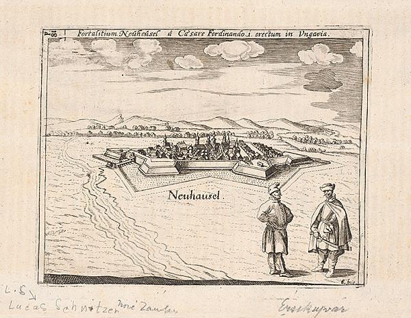 Lucas Schnitzer, Johann Ledentu – Nové Zámky