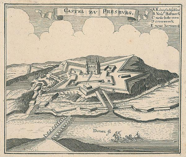 Gaspar Bouttats, Lucas Schnitzer – Bratislavský hrad
