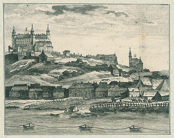 Neznámy autor – Pohľad na Bratislavu